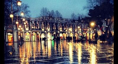 Photo of Plaza Fəvvarələr Meydanı | Fountains Square at Nizami Küç., Baku, Azerbaijan