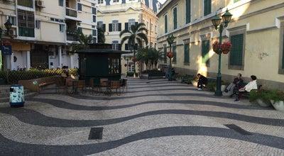 Photo of Plaza Largo de Santo Agostinho / St. Augustine's Square 崗頂前地 at Largo De Santo Agostinho, Macau, Ma, China