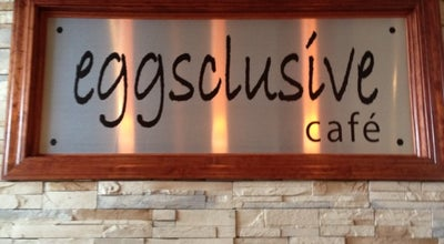 Photo of Breakfast Spot Eggsclusive Cafe at 265 W Peace Rd, Sycamore, IL 60178, United States
