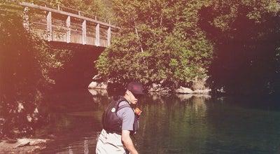Photo of Lake River Of Golden Dreams at Canada
