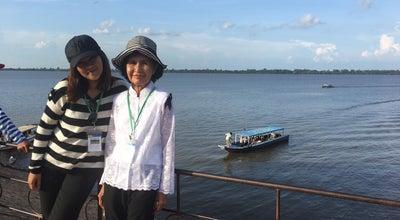 Photo of Lake Western Baray at Siem Reap, Cambodia