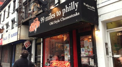 Photo of Sandwich Place 99 Miles To Philly at 94 3rd Ave, New York, NY 10003, United States