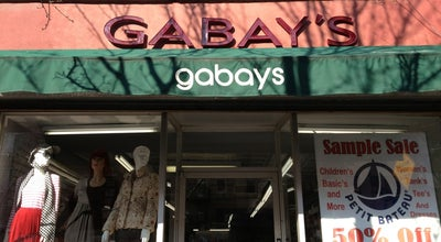 Photo of Clothing Store Gabays Outlet at 225 1st Ave, New York, NY 10003, United States