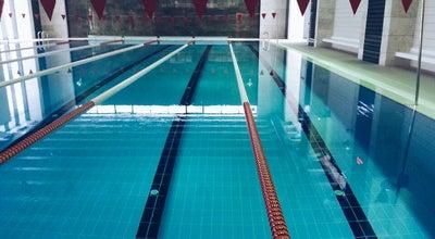 Photo of Pool Bilkent Üniversitesi Kapalı Yüzme Havuzu at Turkey