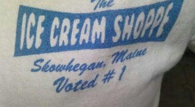 Photo of Ice Cream Shop The Ice Cream Shoppe at North Ave, Skowhegan, ME 04976, United States