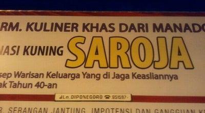 Photo of Breakfast Spot RM Nasi Kuning Saroja at Jl. Diponegoro, Manado 95112, Indonesia