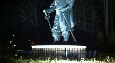 Photo of Outdoor Sculpture Captain Chris Statue at Newport News, VA 23607, United States