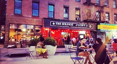 Photo of American Restaurant The Smoke Joint at 87 S Elliott Pl, Brooklyn, NY 11217, United States