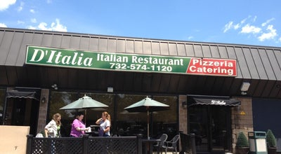 Photo of Italian Restaurant D'Italia Restaurant at 1500 Saint Georges Ave, Avenel, NJ 07001, United States
