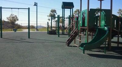 Photo of Playground Fred Barrera Park at 8380 E. Serrano Ave, Orange, CA 92867, United States