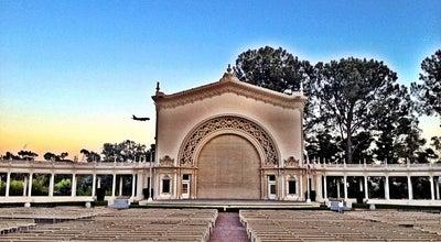 Photo of Concert Hall Spreckels Organ Pavilion at 1549 El Prado #10, San Diego, CA 92101, United States
