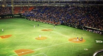 Photo of Baseball Stadium 東京ドーム 三塁側スタンド at 後楽1-3-61, Bunkyō 112-8575, Japan