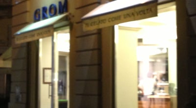 Photo of Ice Cream Shop Grom at Piazzetta Della Lega, Alessandria 15121, Italy