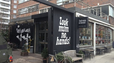 Photo of Bike Shop look mum no hands! at 49 Old St, London EC1V 9HX, United Kingdom
