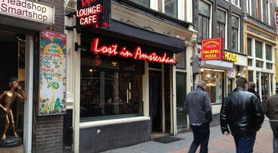 Photo of Cafe Lost in Amsterdam at Hs Nieuwendijk 19, Amsterdam 1012 LZ, Netherlands