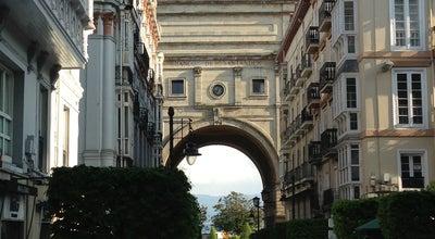 Photo of Historic Site Arco del Banco Santander at Paseo Pereda, Santander, Spain
