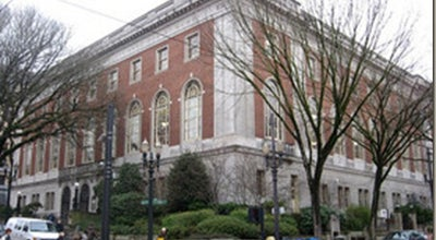 Photo of Library Multnomah County Library - Central at 801 Sw 10th Ave, Portland, OR 97205, United States