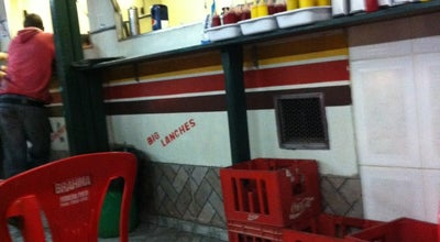 Photo of Burger Joint Big Lanches at Av. Wilson Alvarenga, João Monlevade, Brazil