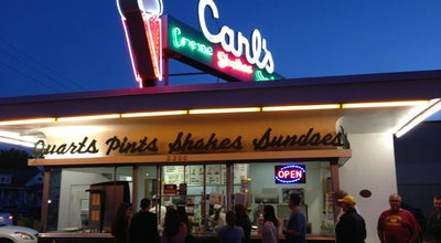 Photo of Ice Cream Shop Carl's Ice Cream at 2200 Princess Anne St, Fredericksburg, VA 22401, United States