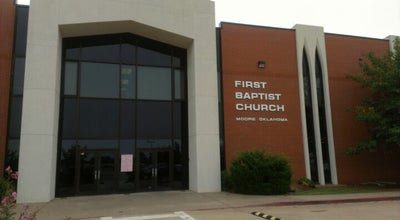 Photo of Church First Baptist Moore at 165-255 Ne 27th St, Moore, OK 73160, United States
