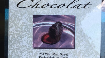 Photo of Candy Store Chocolat at 251 W Main St, Fredericksburg, TX 78624, United States