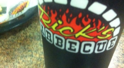 Photo of BBQ Joint Rick's Barbecue at 2515 Woodward Ave, Muscle Shoals, AL 35661, United States