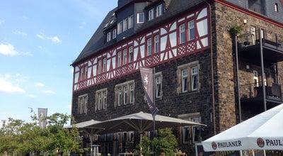 Photo of Restaurant Zollamt • Bar & Terrasse at Hafenstr. 3, Bingen am Rhein 55411, Germany