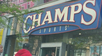 Photo of Sporting Goods Shop Champs Sports at 208 W 125th St, New York, NY 10027, United States