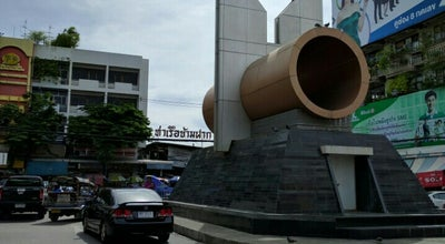 Photo of Monument / Landmark อนุสาวรีย์ รถไฟสายแรกของไทย ปากน้ำ - หัวลำโพง at ถนน ศรีสมุทร, Pak Nam 10270, Thailand