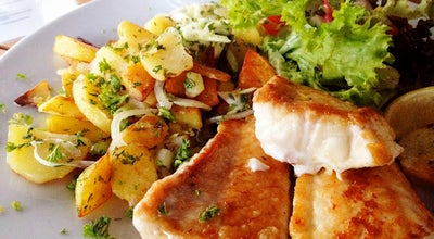 Photo of Fish and Chips Shop Fischschuppen at Boxhagener Str. 68, Berlin 10245, Germany