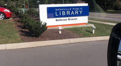 Photo of Library Bellevue Public Library at 720 Baugh Rd, Nashville, TN 37221, United States