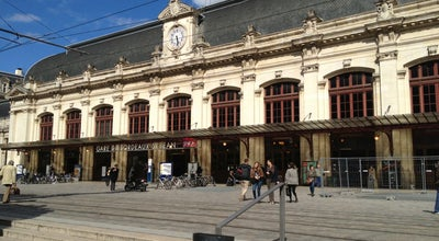 Photo of Tram Station Gare Saint-Jean Ⓒ at Rue Charles Domercq, Bordeaux 33800, France