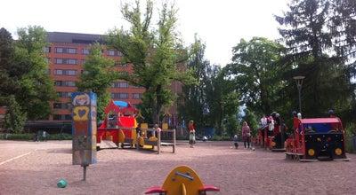 Photo of Playground Pikku Kakkosen puisto at Pellavatehtaankatu, Tampere, Finland