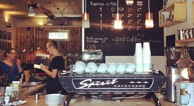 Photo of Cafe Oslo Kaffebar at Eichendorffstr. 13, Berlin 10115, Germany