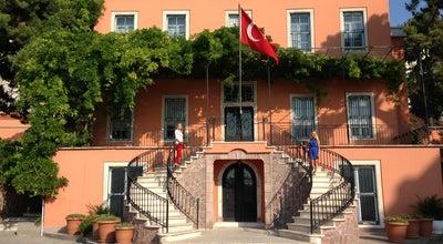 Photo of History Museum Uşakizade Köşkü at İzmir Özel Türk Koleji Bahattin Tatış Kampüsü Mithatpaşa Cad. No:687- 689 Köprü, İzmir 35280, Turkey