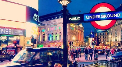 Photo of Historic Site Piccadilly Circus at Piccadilly Circus, London W1J 9HS, United Kingdom