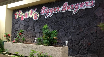 Photo of Burger Joint Teddy's Bigger Burgers at 134 Kapahulu Ave, Honolulu, HI 96815, United States