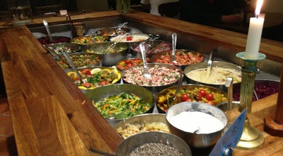 Photo of Vegetarian / Vegan Restaurant Hermans at Fjällgatan 23, Stockholm 116 28, Sweden