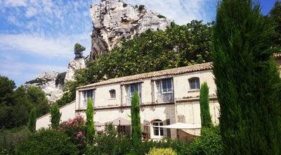 Photo of French Restaurant Oustau de Baumaniere at Chemin Départemental 27, Les Baux de Provence 13520, France