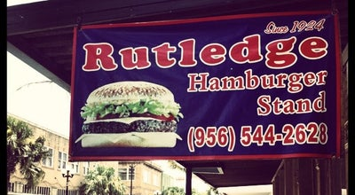 Photo of Burger Joint Rutledge Burgers at 1126 E Washington St, Brownsville, TX 78520, United States