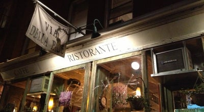 Photo of Italian Restaurant Via Della Pace at 48 E 7th St, New York, NY 10003, United States