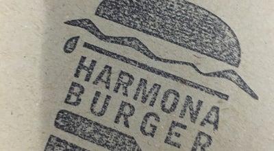 Photo of Burger Joint Harmona Burger at Avenida Jeronymo Ometto, 140, Araras, Brazil