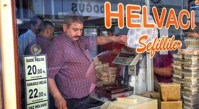 Photo of Candy Store Tanınmış Helvacı at Deliklitaş Mah. Değirmen Sok. No:34/b, Odunpazarı, Turkey