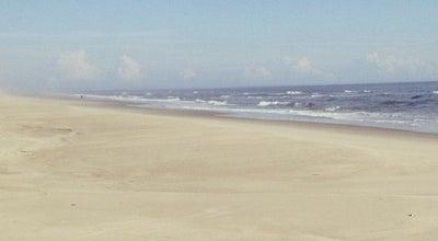Photo of Beach Atlantic Ocean at Oak Island, NC, United States