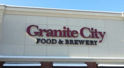 Photo of Brewery Granite City Food & Brewery at 150 W 96th St, Indianapolis, IN 46260, United States