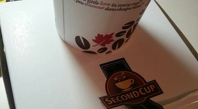 Photo of Coffee Shop Second Cup at 150 University Ave W, Waterloo, ON N2L 3E4, Canada
