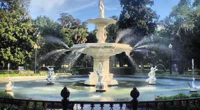 Photo of Park Forsyth Park Fountain at Drayton St, Savannah, GA 31401, United States