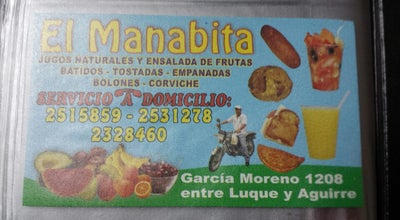 Photo of Juice Bar El Manabita at Hurtado, Guayaquil, Ecuador