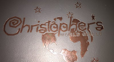 Photo of New American Restaurant Christopher's World Grille at 5001 Boonville Rd, Bryan, TX 77802, United States