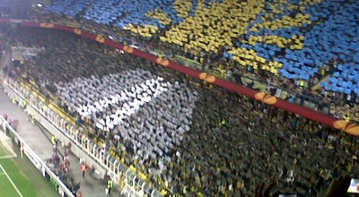 Photo of Soccer Stadium Fenerium Tribünü at Fenerbahçe Şükrü Saracoğlu Stadyumu, İstanbul, Turkey
